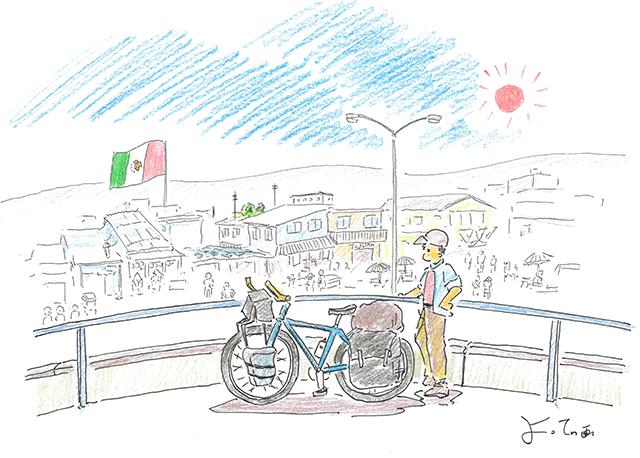 自転車世界一周の旅~よってぃ絵日記(その1)