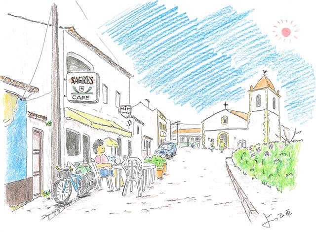 自転車世界一周の旅日記(その13)アルガルヴェ~ヨーロッパの田舎