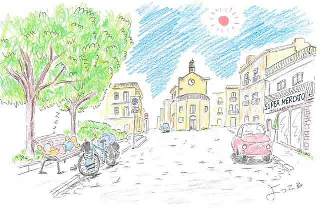 自転車世界一周の旅日記(その17)イタリア半島 北から南へ