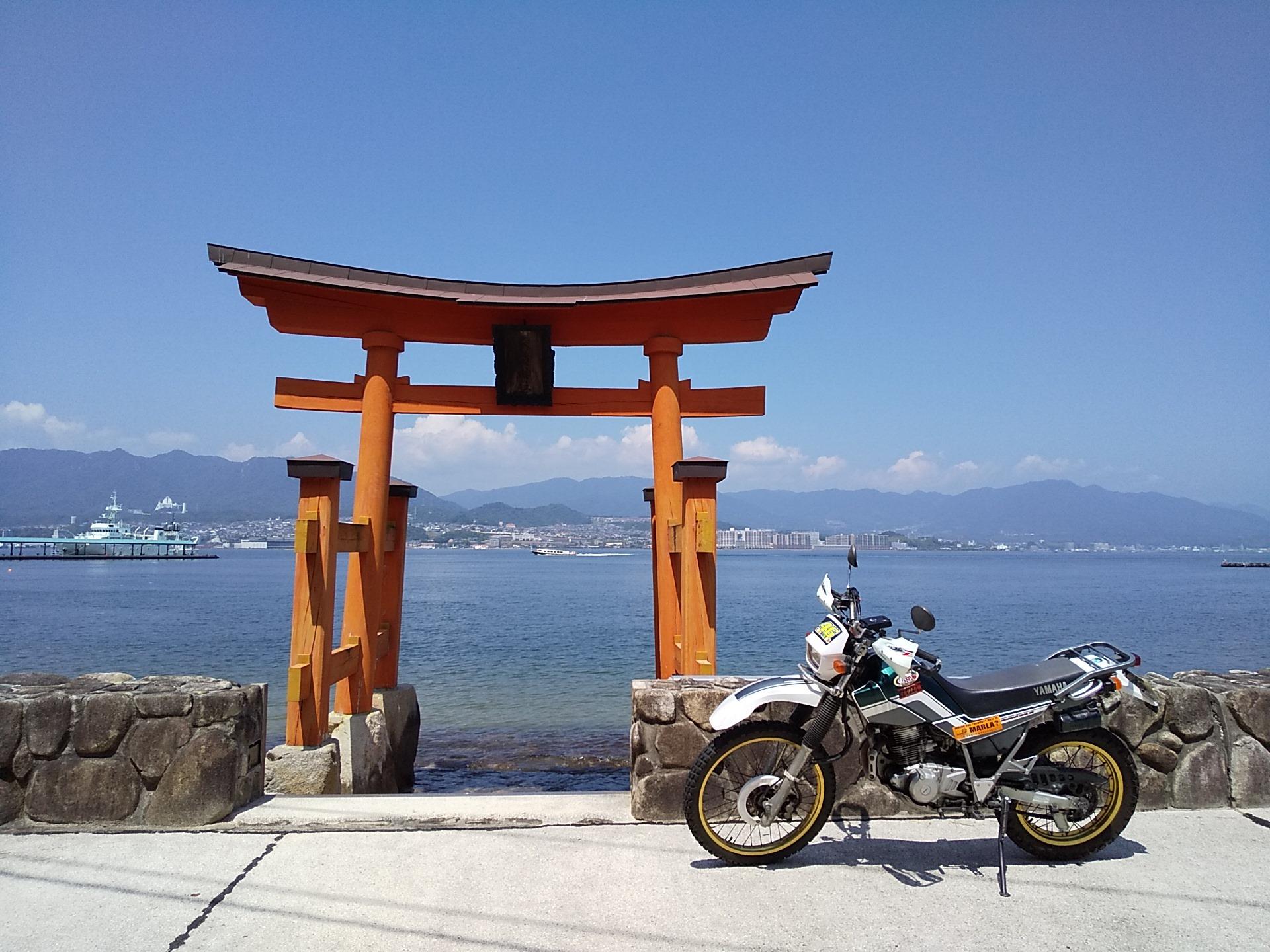 夏のしま旅~宮島ツーリング