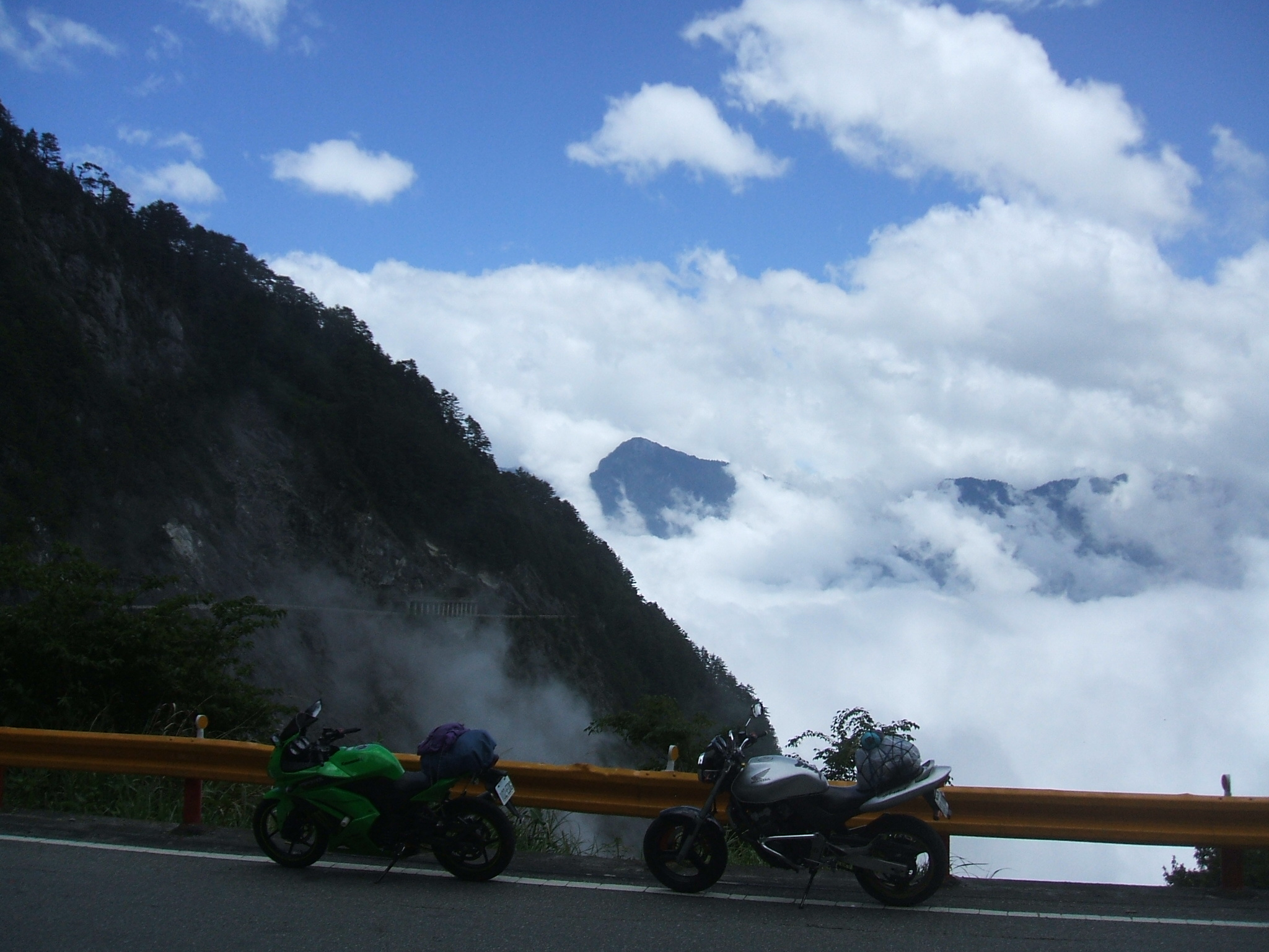 台湾バイク旅~台湾横断道路