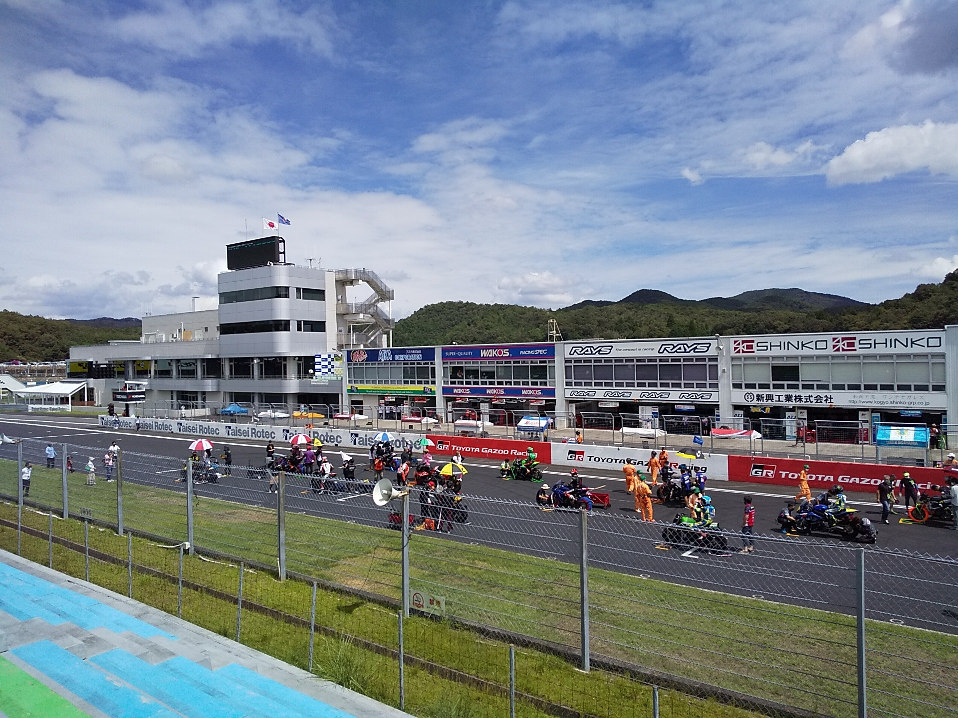 全日本ロードレース in 岡山 観戦レポート